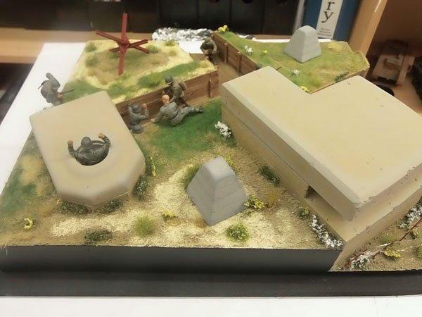 The 2 Bunker Diorama