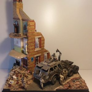 The City House Diorama
