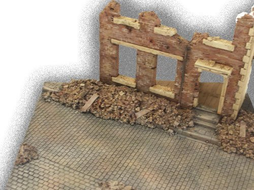 The House Ruin Diorama