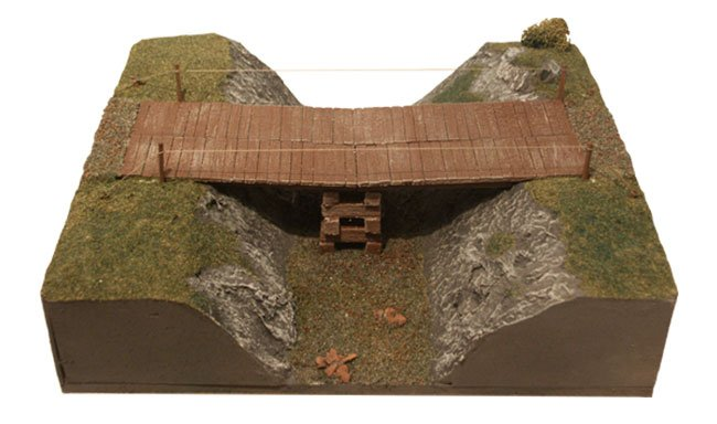 Wooden Assult Bridge